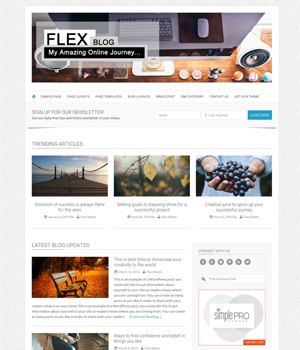 Flex Pro Genesis Theme Blog Layout